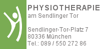 Physiotherapie am Sendlinger Tor
